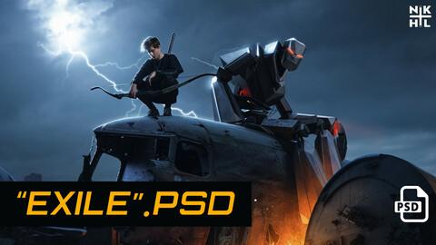 Exile PSD file