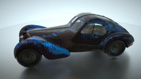 Bugatti type 57 special edited