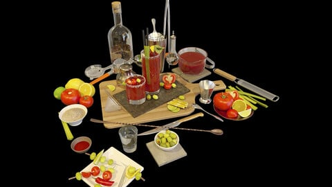 Cocktail Set Bloody Mary