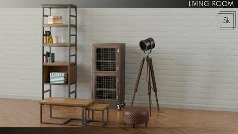 Furniture - Living Room props