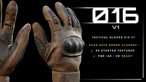 Tactical Gloves 016 v1
