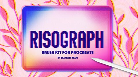 RISOGRAPH BRUSH SET FOR PROCREATE