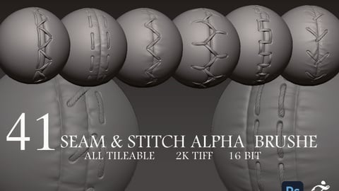 41 seam & stitch alpha  brushe_vol.2