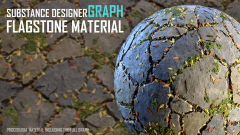 Flagstone Material - Substance Designer