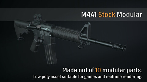 M4A1 Stock Modular