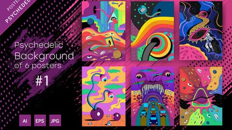 Psychedelic Background #1