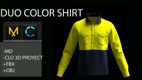 DUO  COLOR SHIRT