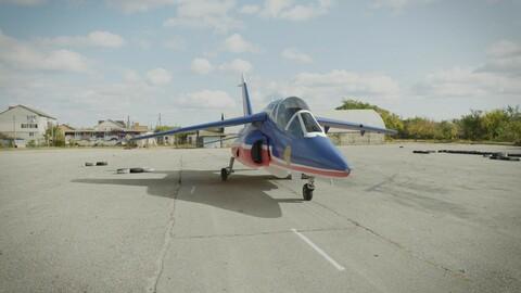 Dassault's AlphaJet - 14th of July Model- French Plane
