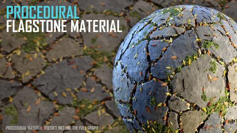 Flagstone Material - Procedural