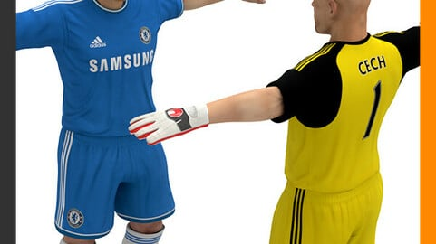 Football Player and Goalkeeper - Chelsea FC