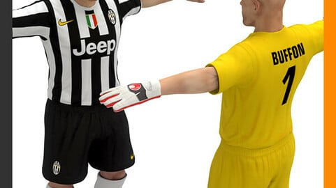 Football Player and Goalkeeper - Juventus FC