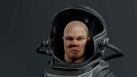 post-apocalypse (GAME-READY ANIMATED MODEL)