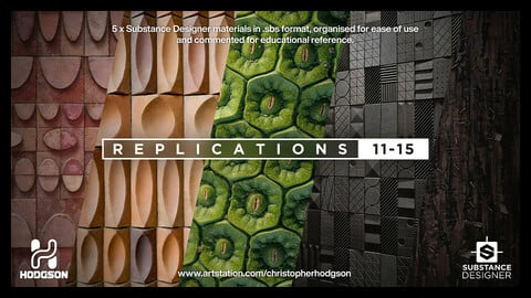 Chris Hodgson's Substance Replications 11-15