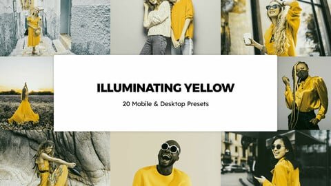 20 Illuminating Yellow LUTs and Lightroom Presets
