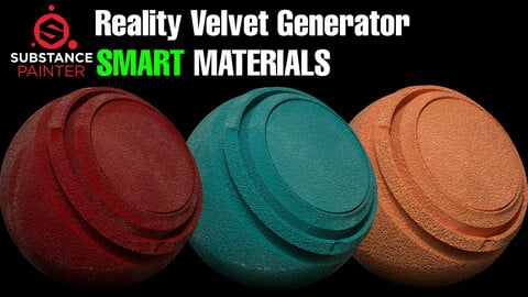 Reality Velvet Material Generator + Tutorial Video✅