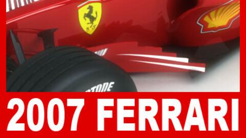 F1 2007 Ferrari F2007