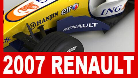 F1 2007 ING Renault R27