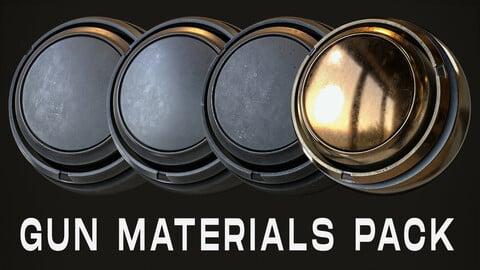 Gun smart materials pack