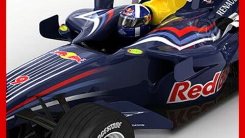 F1 2008 Red Bull RB4