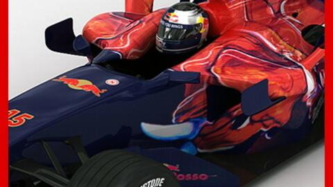 F1 2008 Scuderia Toro Rosso STR3