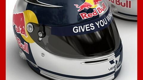 Helmet F1 2008 Sebastian Vettel