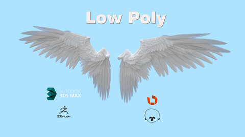 Wings Low Poly