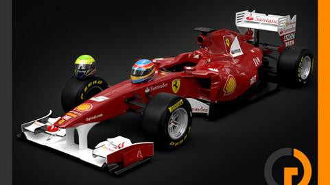 F1 2011 Ferrari F150 Scuderia