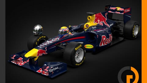 F1 2011 Red Bull Racing RB7