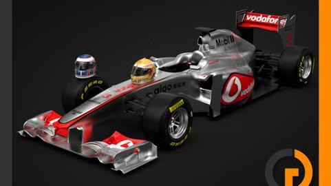 F1 2011 McLaren MP4-26 Vodafone Mercedes
