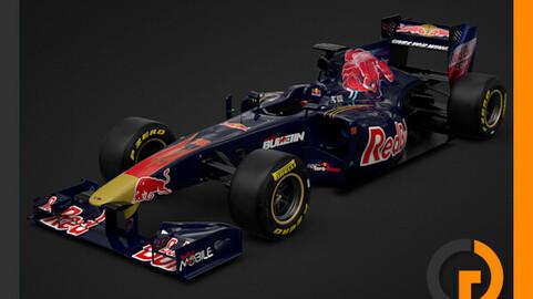 F1 2011 Scuderia Toro Rosso STR6