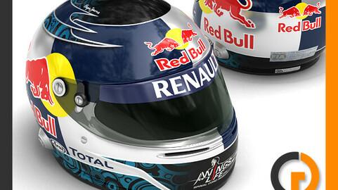 Helmet F1 2011 Sebastian Vettel