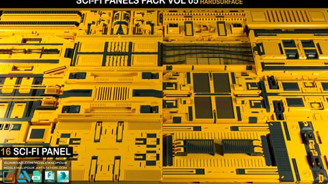 sci-fi panel pack vol 05