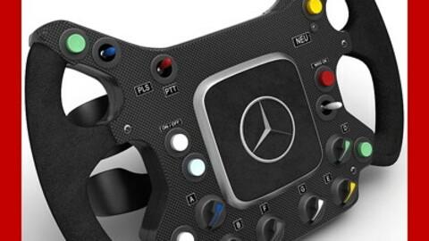 F1 McLaren Steering Wheel
