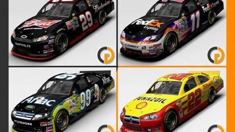 Nascar 2011 Different Bodyworks Cars