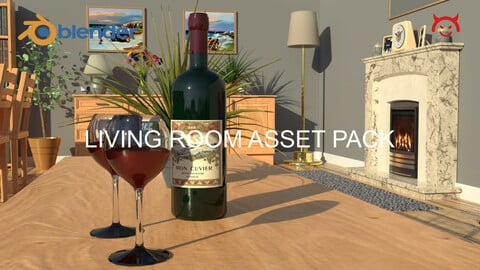 Living Room Asset Pack