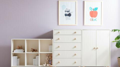 New Souffle 2X3 Baby Bookshelf
