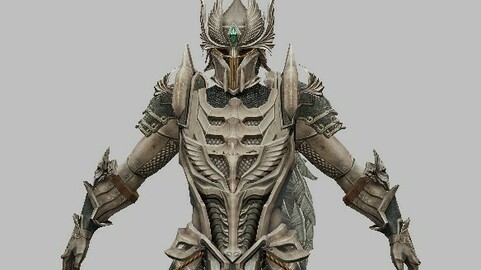 Armored Knight Character