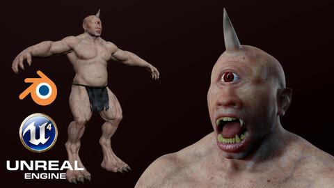 Cyclops Low-poly