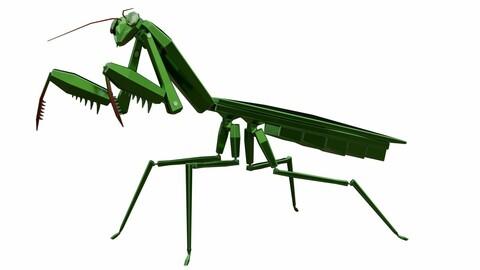 3D Mecha Mantis