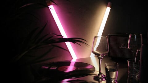 LED Vibepole mood light_4colors