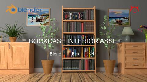 Bookcase Interior Asset