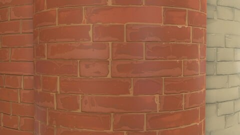 FREE - Brick Stylized .SBS