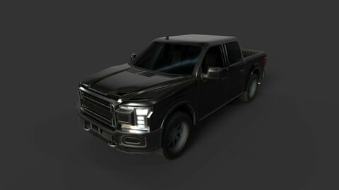 2018 Ford F-150 Truck Variant (Game Optimized)