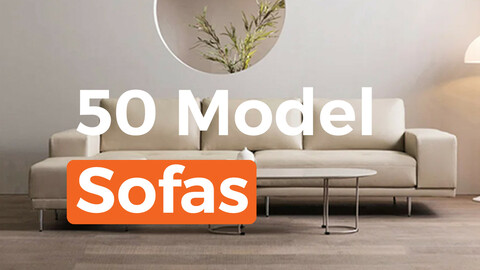 package of 50 sofa models
