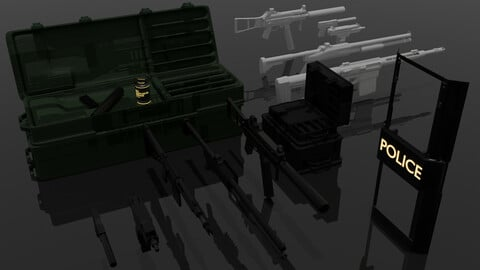 Weapon Asset Pack 1