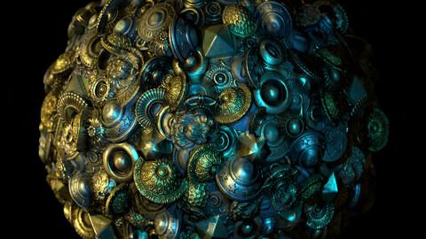 Materials buttons