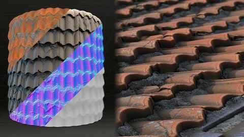 Procedural Roof Material