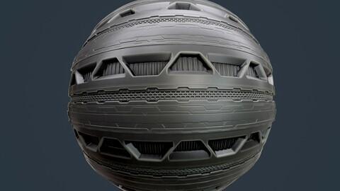 Sci-Fi Military Seamless PBR Texture 107