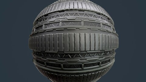 Sci-Fi Military Seamless PBR Texture 118