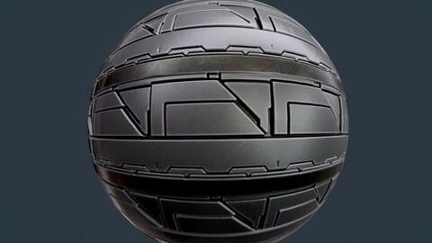 Sci-Fi Military Seamless PBR Texture 135
